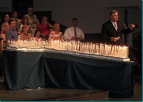 Cross Shaped Birthday Cakes